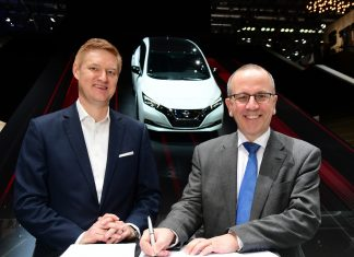 Nissan se parteneriază cu furnizorul de energie electrică E.ON