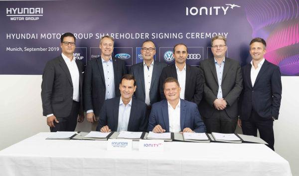 Kia investește în IONITY