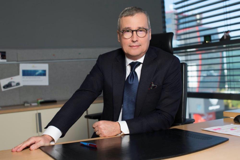Brent Valmar, director general Porsche Romania